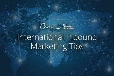 Blog International Inbound Tips