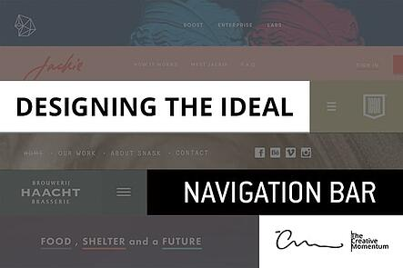 Designing the ideal navigation bar