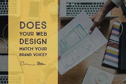 Does Your Web Design Match Your Brand Voice