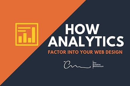 How Analytics Factor Into Your Web Design