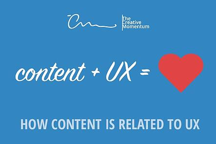 How Content is Related to UX