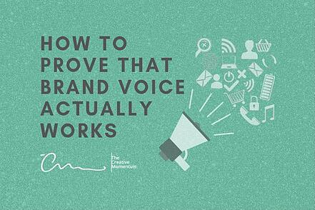 How to Prove that Brand Voice Actually Works