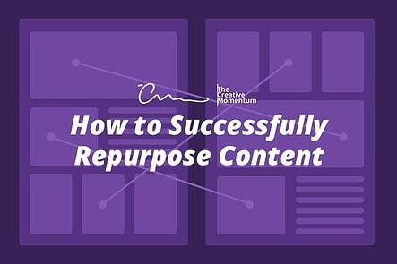 How to Successfully Repurpose Content