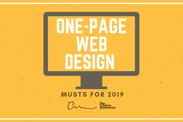 One-Page Web Design