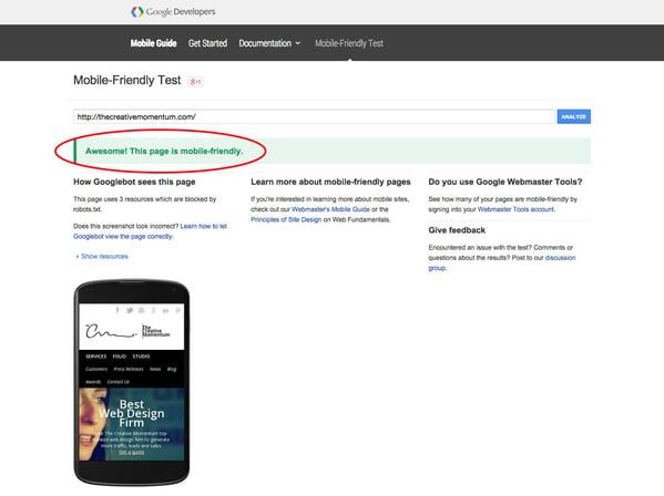 Responsive Website Design Needed by April 21st – Google's Algorithm Change