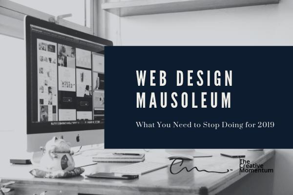 Web Design Mausoleum