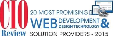 CIO 20 Most Promising Web Development & Design Technology Solutions Providers