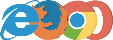 These browser extensions will help you maximize your SEO effect. Internet explorer, Firefox, Chrome and Opera logos.