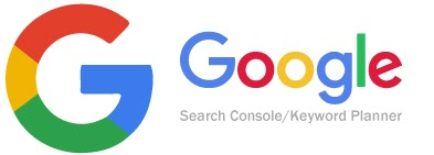 Google's Search Console and Keyword Planner tools are useful for planning and monitoring SEO strategy.