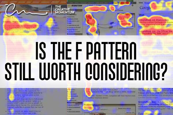 How important is the F Pattern in your content marketing? A heat map demonstrates the f pattern on different websites.
