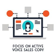 All ecommerce landing pages should have active sales copy to generate interest.