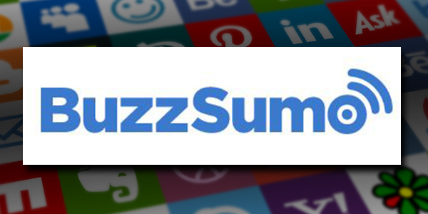 BuzzSumo is one of the best social media tools for keyword research. BuzzSumo's logo.