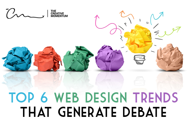 Certain web design trends generate more debate than others in regards to their efficacy and value.