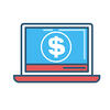 Google Local Trust Pack Benefits for SEO - good for your budget - laptop with money sign on screen