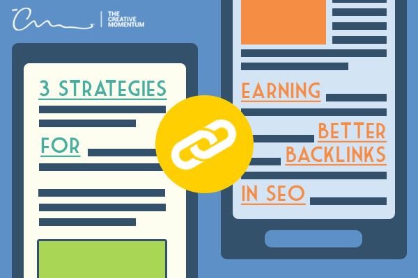How do you get quality backlinks? Here are 3 Strategies for earning better backlinks in SEO - tablets, link icon