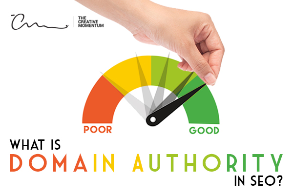 SEO Domain Authority- What is domain authority? A rating meter from poor to good for domain authority quality
