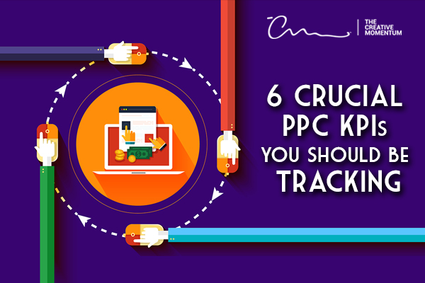 Read here for the most important PPC KPIs - four hands right clicking computer mice circle an image of a laptop