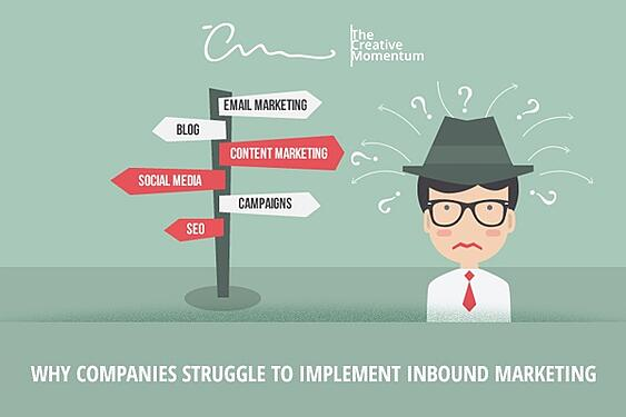 Why Companies Struggle to Implement Inbound Marketing