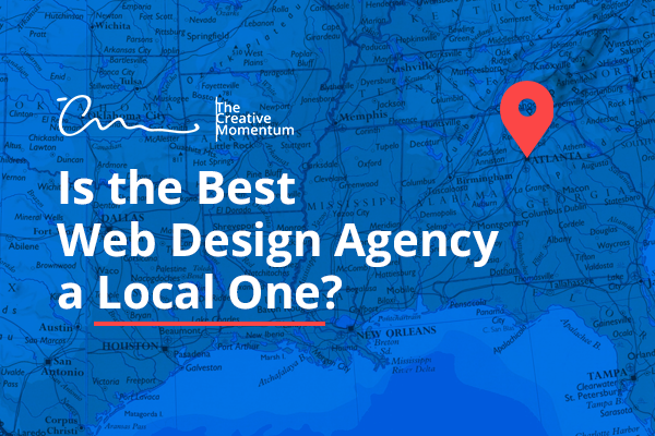 Is the best web design agency a local one?