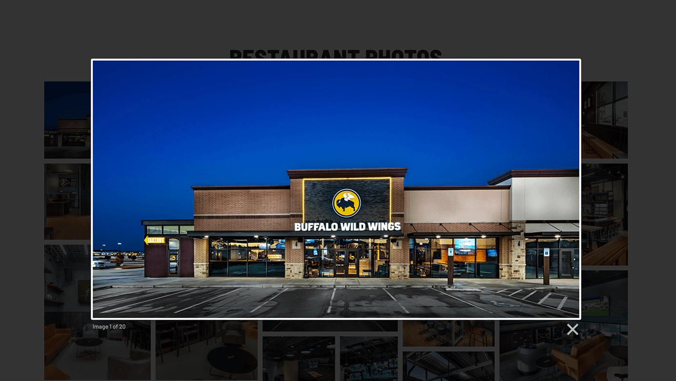 Buffalo Wild Wings Franchising | The Creative Momentum - Web Design & Digital Marketing