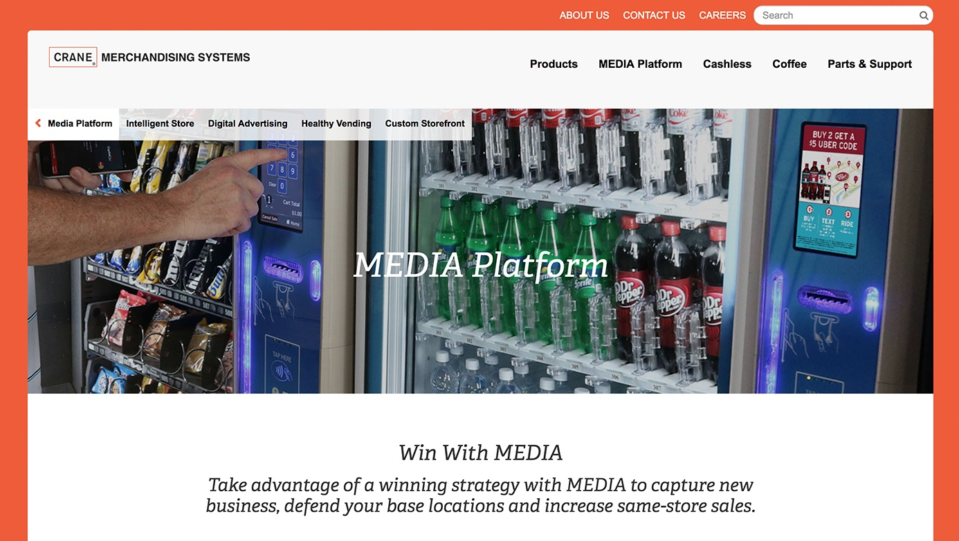Crane Company | The Creative Momentum - Web Design & Digital Marketing