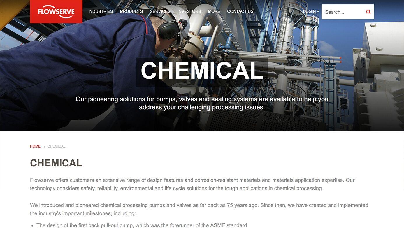 Flowserve Company   The Creative Momentum - Web Design & Digital Marketin