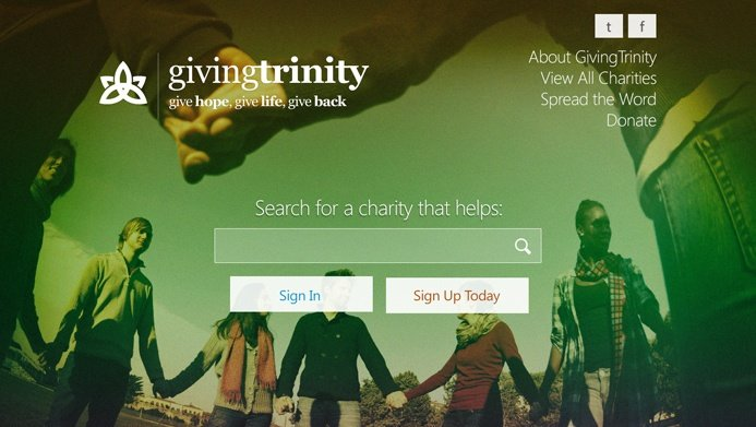Giving Trinity | The Creative Momentum - Web Design & Digital Marketing