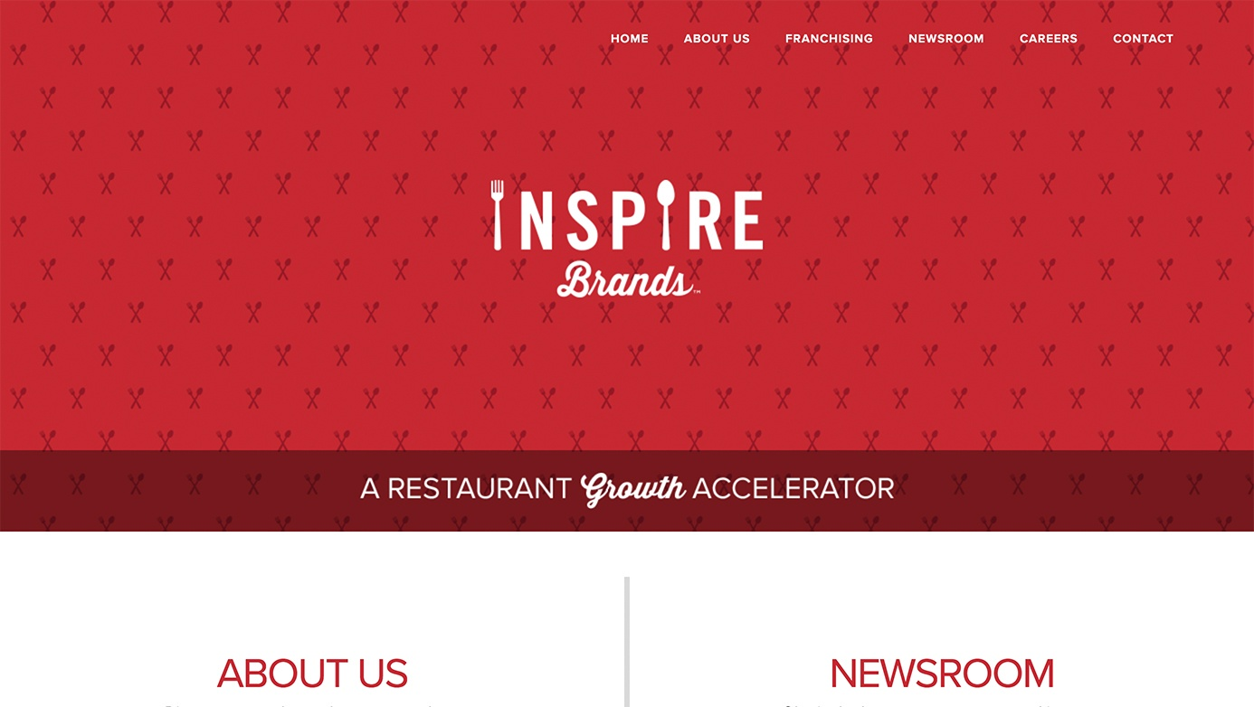 Inspire Brands | The Creative Momentum - Web Design & Digital Marketing