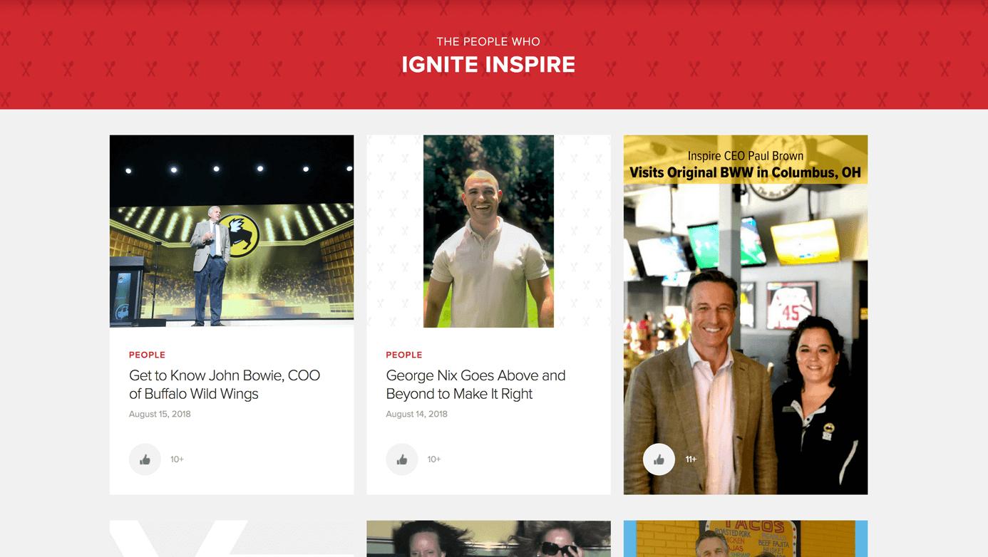 Inspire Stories | The Creative Momentum - Web Design & Digital Marketing
