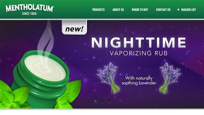 Mentholatum Ointment | The Creative Momentum - Web Design & Digital Marketing