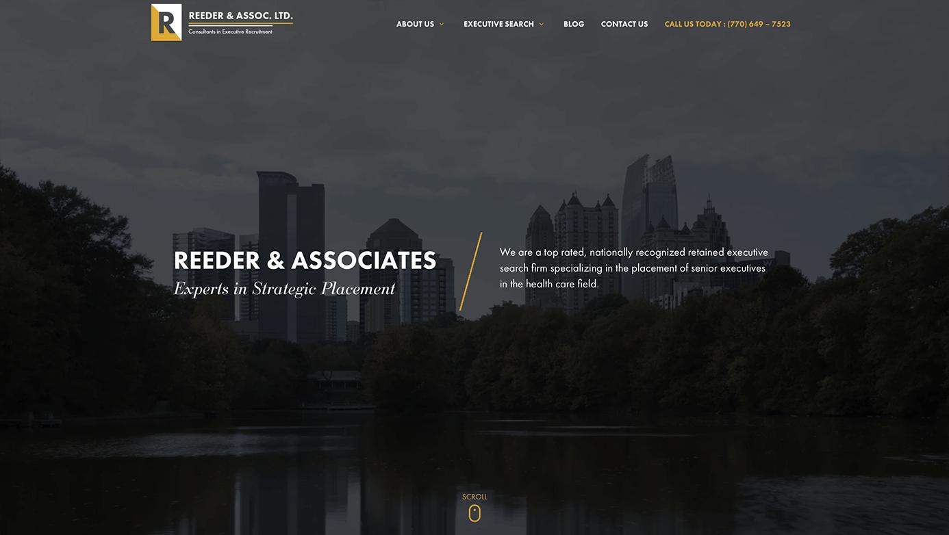 Reeder & Associates | The Creative Momentum - Web Design & Digital Marketing