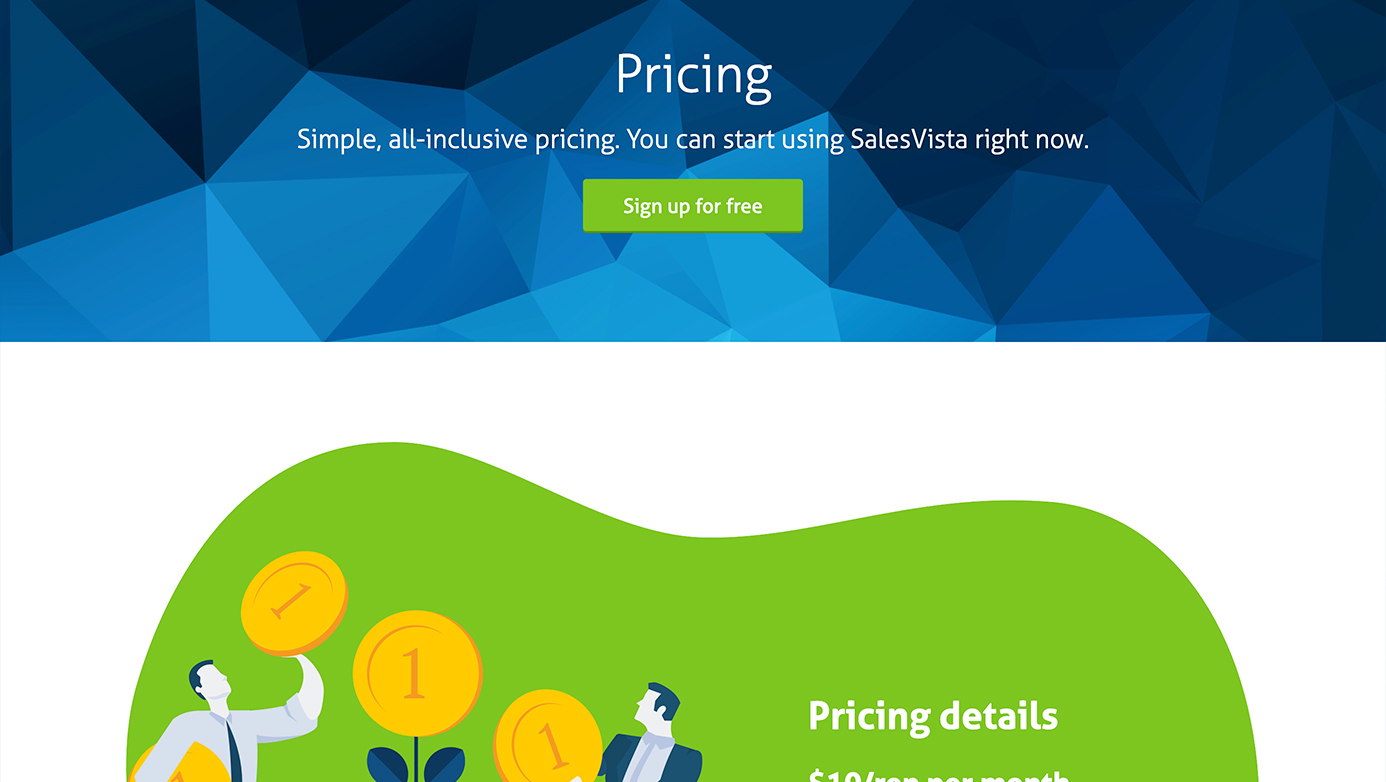 SalesVista | The Creative Momentum - Web Design & Digital Marketing
