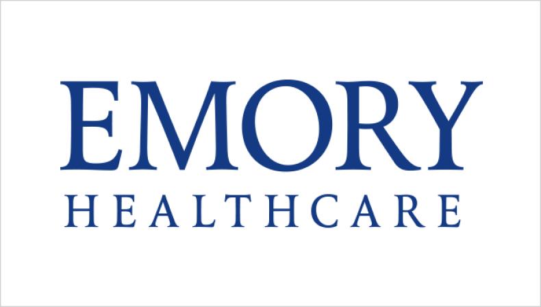 Emory Healthcare logo | Client Testimonial from Emory Healthcare l for the Creative Momentum Atlanta, GA Web Design & Digital Marketing