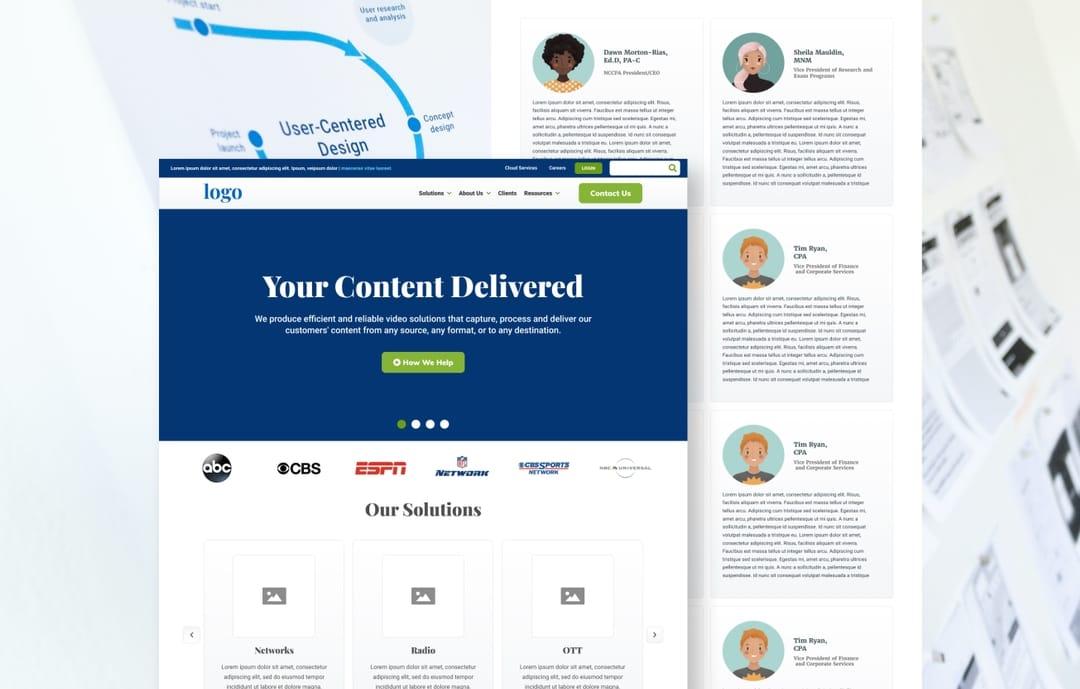 Wireframe Design | The Creative Momentum Atlanta, GA Web Design & Digital Marketing