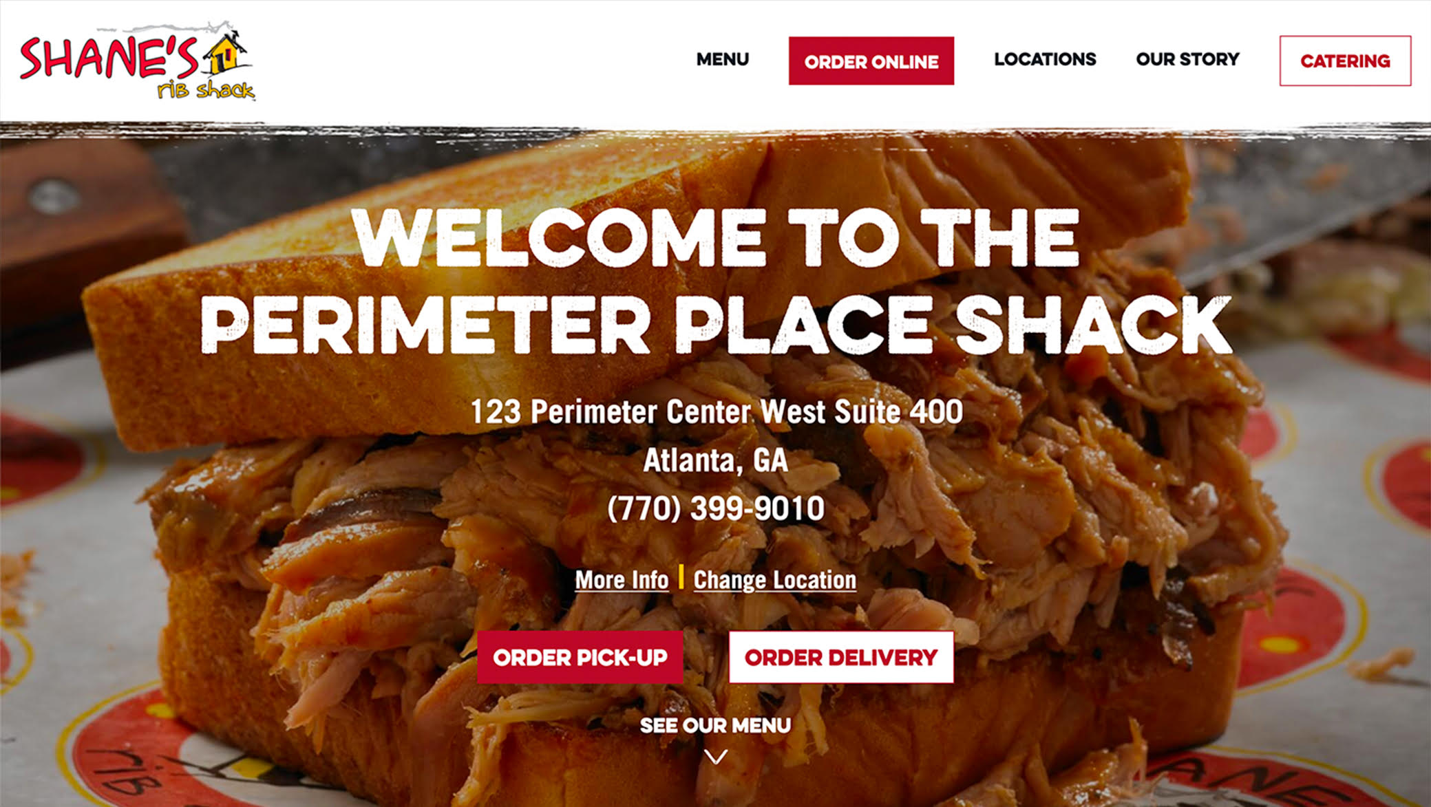 Shane's Rib Shack Company | The Creative Momentum - Web Design & Digital Marketing