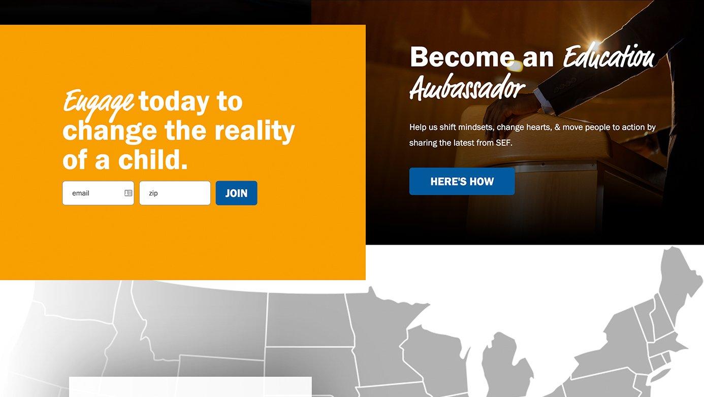 Southern Education Foundation | The Creative Momentum - Web Design & Digital Marketing