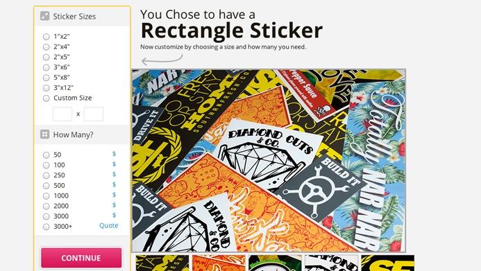 Sticker Shark Company | The Creative Momentum - Web Design & Digital Marketing
