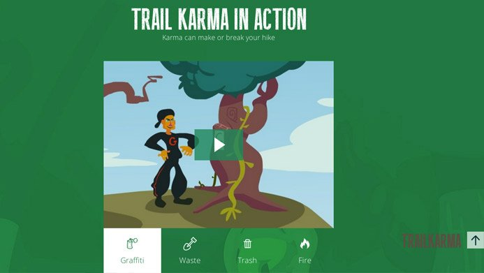 Trail Karma - Appalachian Trail | The Creative Momentum - Web Design & Digital Marketing