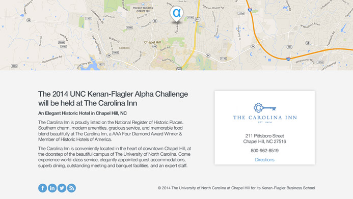 UNC Chapel Hill - Kenan Flagler Business School | The Creative Momentum - Web Design & Digital Marketing