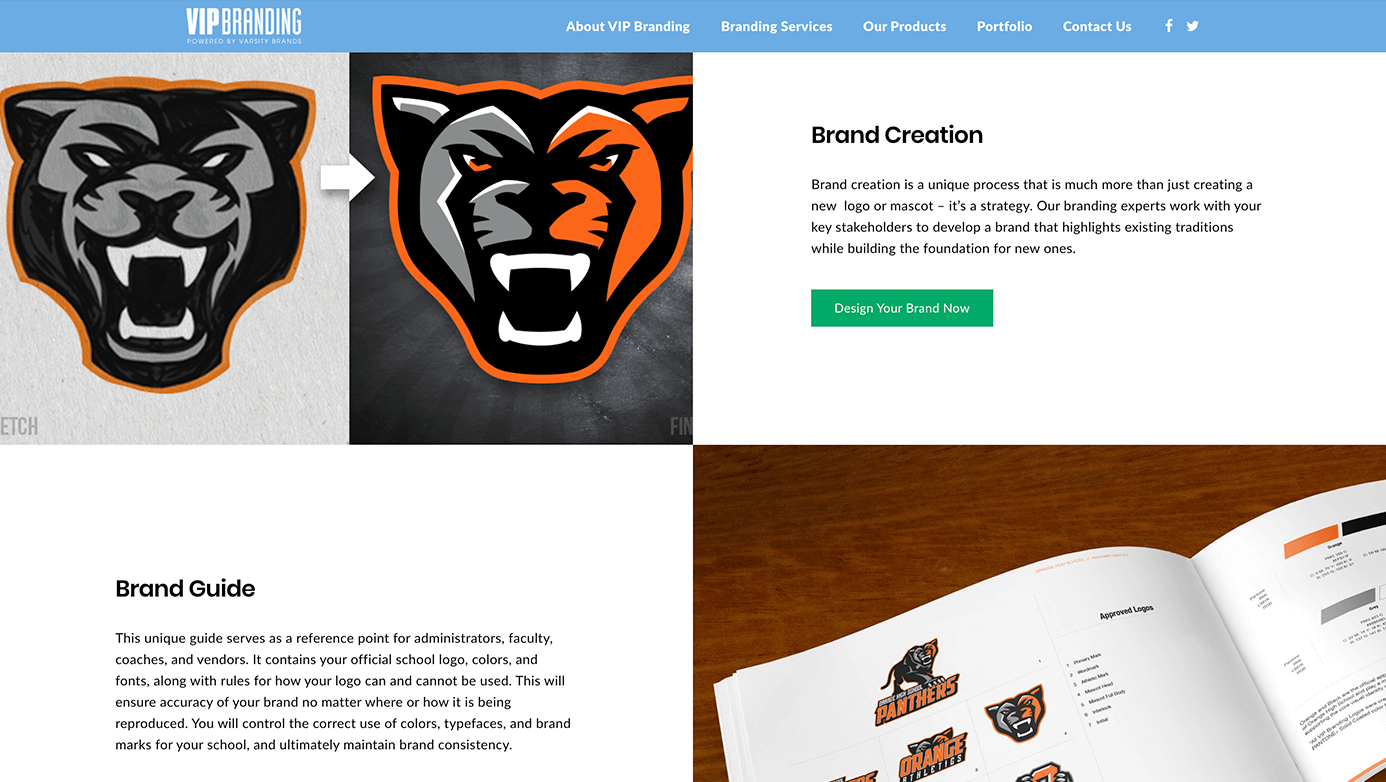 VIP Branding | The Creative Momentum - Web Design & Digital Marketing