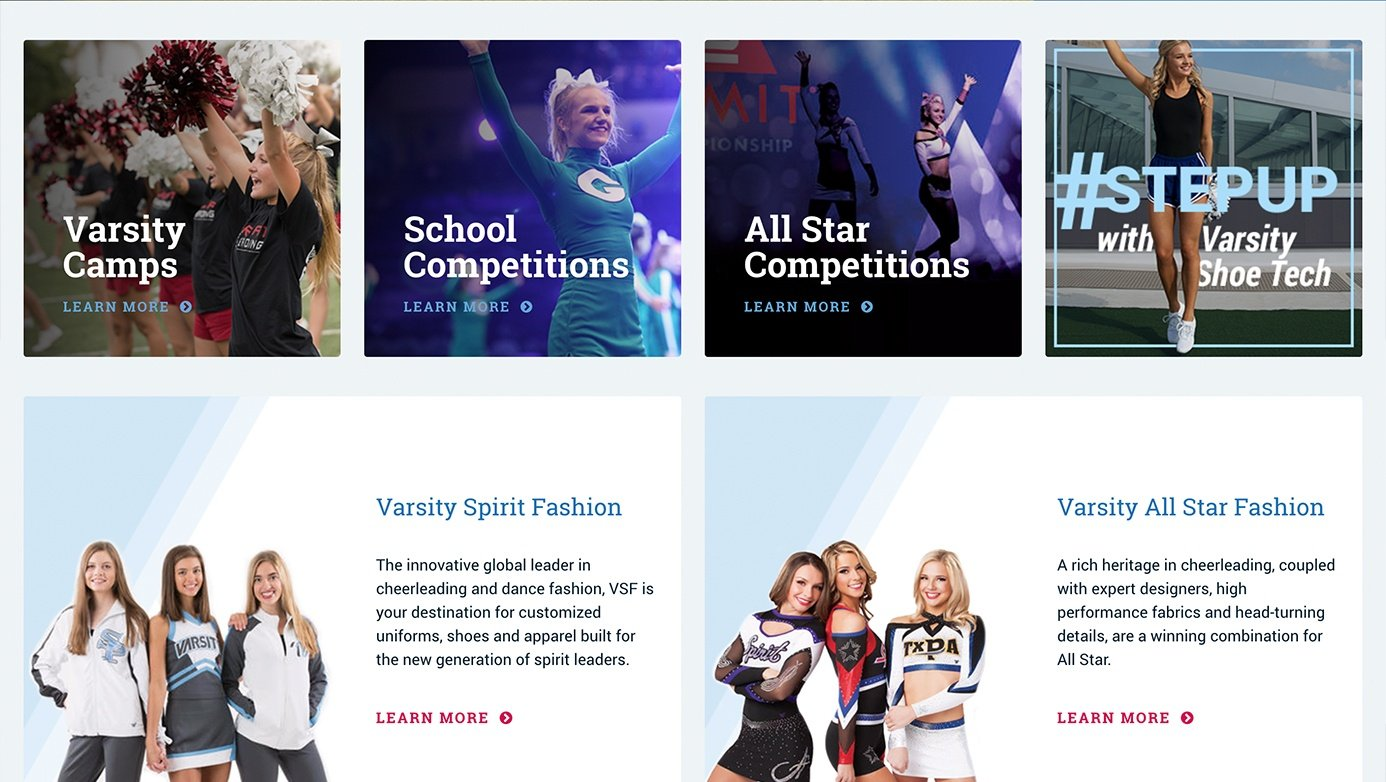 Varsity | The Creative Momentum - Web Design & Digital Marketing