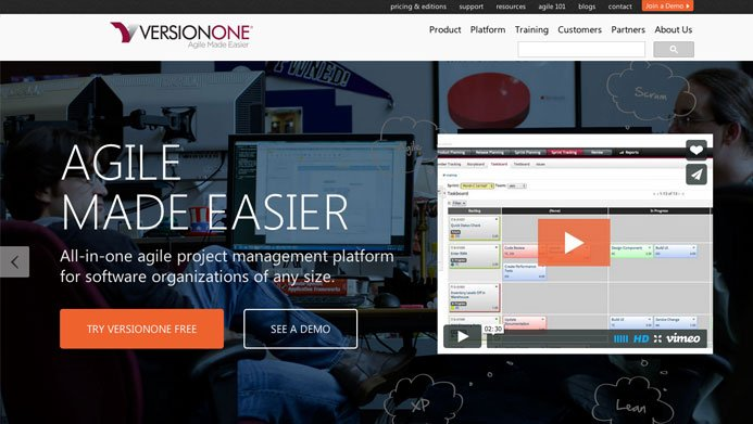 VersionOne | The Creative Momentum - Web Design & Digital Marketing