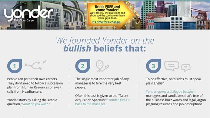 Yonder Company | The Creative Momentum - Web Design & Digital Marketing