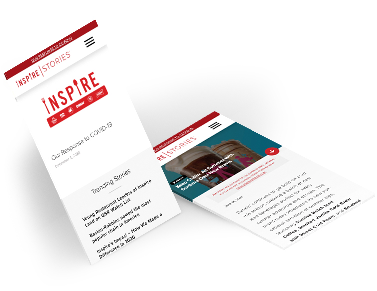 Inspire Stories Mobile