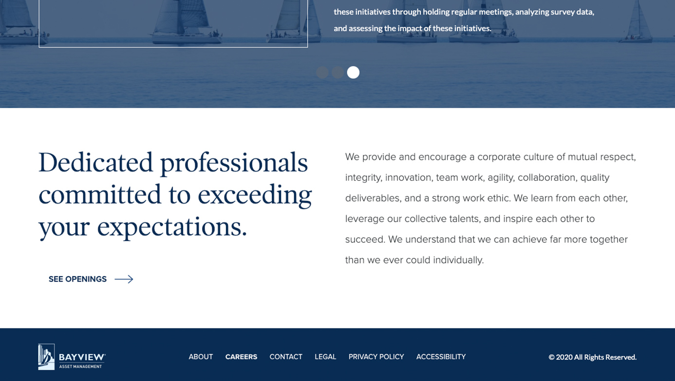 Bayview Asset Management Company | The Creative Momentum - Web Design & Digital Marketing