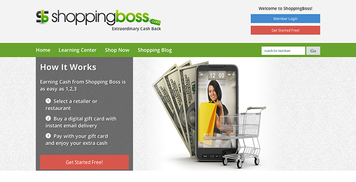 ShoppingBoss before The Creative Momentum