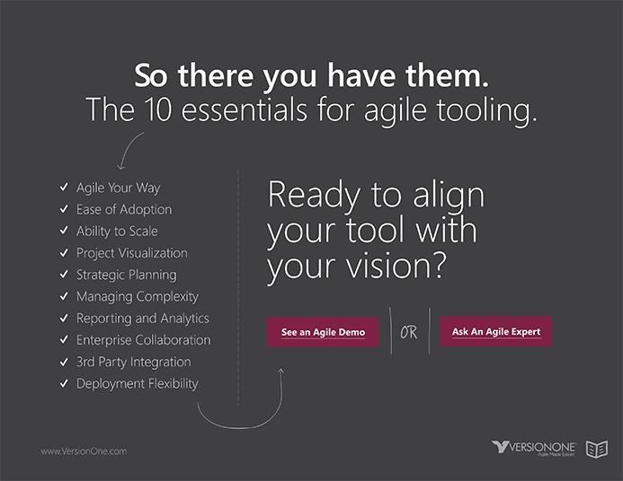 VersionOne custom ebook design focused on conversions