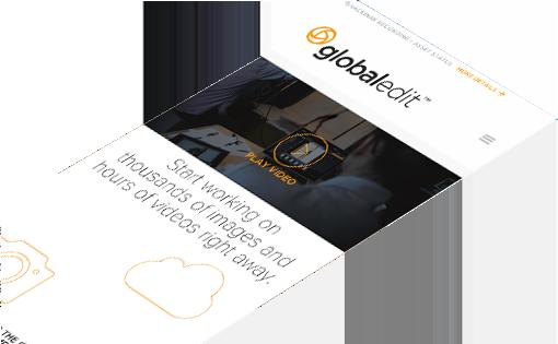 GlobalEdit custom responsive design and development